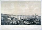 'High Level Bridge, Newcastle upon Tyne', 1849.