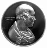 James Watt, Scottish engineer, c 1800.
