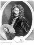 Sir Christopher Wren, English architect, c 1680.