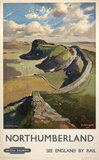 Hadrian's Wall, by Jack Merriott. 'Northumb