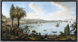 Naples as seen from Posillipo, Kingdom of Naples, c 1766.