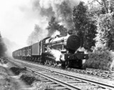 Trevor Hall' steam locomotive, 'Hall' Class 4-6- 0 No. 5998, ascending Hemerdon bank, east of Plymouth, 1934.