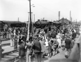 Railway exhibition at Ilford, 1934.
