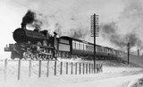 Star Clas 4-6-0 steam locomotive, west of Twyford.