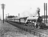 'Robert the Devil' steam locomotive, c 1930.