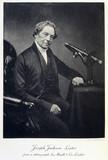 Joseph Jackson Lister, amateur microscopist, 1866-1869.