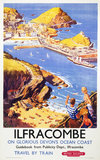 Ilfracombe', BR poster.