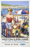 'Weston-Super-Mare', BR poster, 1952.
