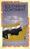 'Southern for the Continent', SR poster, 1933.