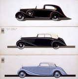 """The Rolls-Royce 'Phantom III', c 1936-1937. """