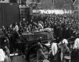 King George V's funeral. 'Scenes at Padding
