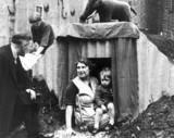Islington receives its first air raid shelt