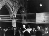 Watching a war film, 30 December 1941. 'The