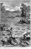 Poseidon in a coastal landscape, 1725.