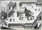 Yoshida Shrine, Kyoto, Japan, c 1690.