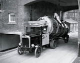 Milk tanker, Horlicks factory, Slough, 27 January 1932.