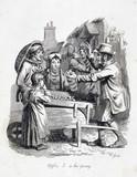 'Apples 5 a ha'penny', 1833.