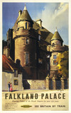 Falkland Palace, British Railways poster, c