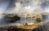 'Victoria Bridge over the Wear', 1838.