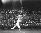 Tennis player Crawford at Wimbledon 1935.