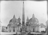'Rome, Piazza del Popolo from the Porto del