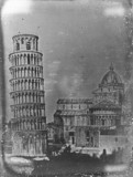 'Pisa, The Leaning Tower, eastern extremity of Cathedral', 25 June 1841.