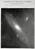 Andromeda Galaxy (M31), 29 December 1888.