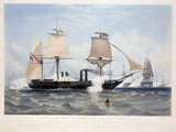 HMS 'Terrible', 1845.