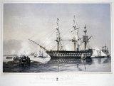 'HMS 'Agamemnon', 91 guns', 1853.