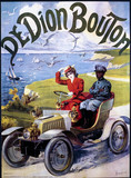 De Dion Bouton, poster, c 1910.