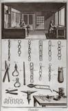Chain-making workshop, 1751-1765.