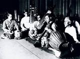 Musicians, India, c 1945.