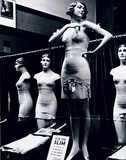 Shop window display of underwear, c 1935.