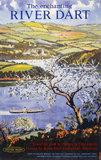 'The Enchanting River Dart', BR poster, 1961.