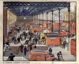'A London Loading Platform', GPO poster, c 1950.