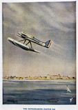 Supermarine-Napier S5, Schneider Trophy contest programme, 1929.