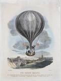 'The Nasau Balloon', Norwich, 24 September 1840.
