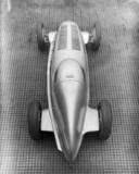 Mercedes-Benz W25 GP coupe racing car, 1934.