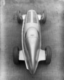 Mercedes-Benz W25 GP coupe racing car, 1934.