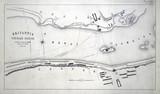 Plans for the Britannia Tubular Bridge over the Menai Straits, Wales, 1848.