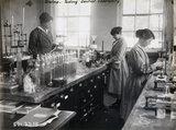 Women workers, Gretna munitions factory, Scotland, 1918.