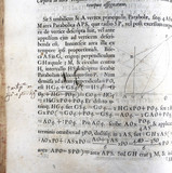Handwriting on page of Newton's 'Principia Mathematica', 1687.