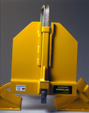 Wheelok wheel clamp (credit: Science Museum / Science & Society)