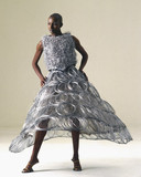 Steel wedding dres by Jeff Banks, 1995.
