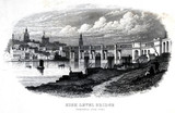 'High Level Bridge, Newcastle upon Tyne', c 1855