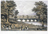 'View from Above the Bridge', Hyde Park, London, 1851.