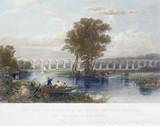 The Dutton Viaduct, River Weaver, Cheshire, 1837-1840.