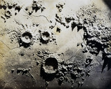 Lunar craters, 1845-1860.