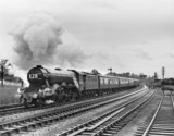 Flying Scotsman' No 4472, Hatton, 20 April 1963.