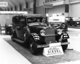 Mercedes-Benz 260D diesel saloon, Berlin 1936.